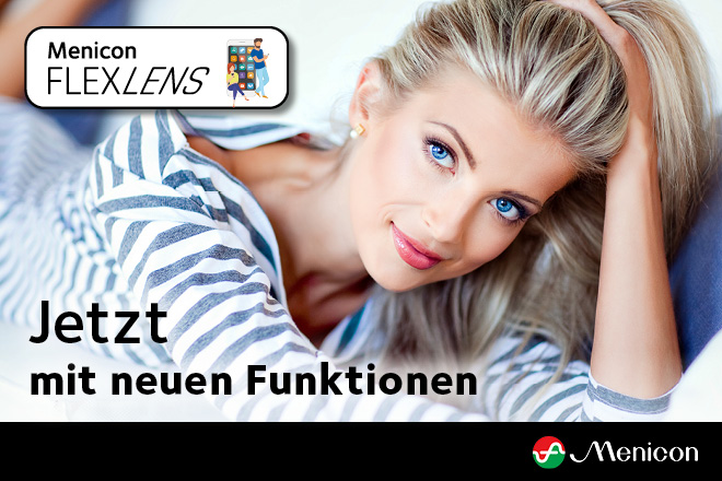 Menicon FLEXLENS - News: SMS Funktion