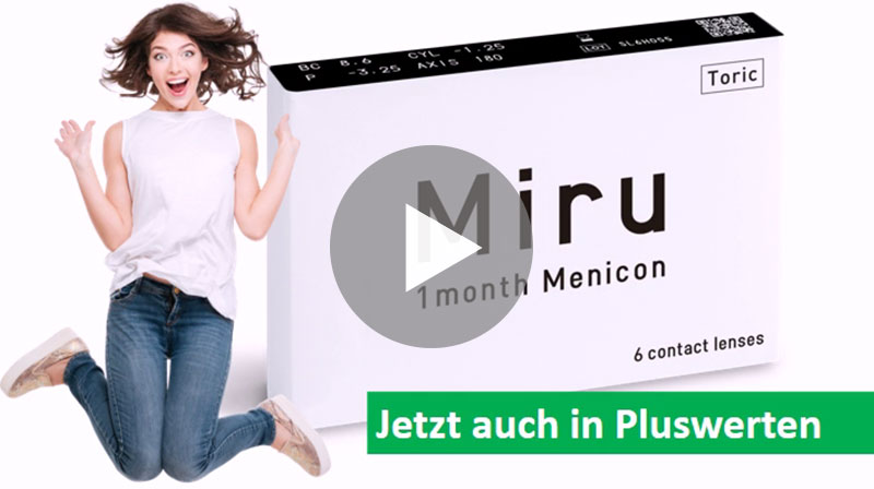 Video-Poster: A coffee with Menicon Miro Toric, jetzt auch in Plus-Werten